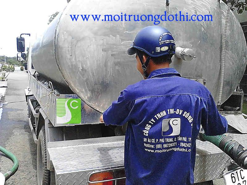 Thợ thông cầu cống nghẹt Tp HCM