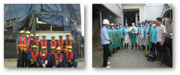Dịch vụ vệ sinh bảo trì máy móc công ty