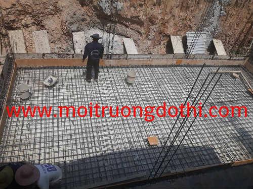Xây dựng hầm mới chứa nước thải – tại KCN Mỹ Phước 2