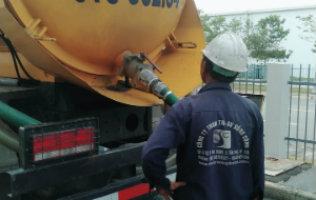Hút bùn thải công nghiệp, bùn thải sau hệ thống xử lý nước thải